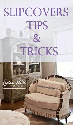 Slips MilkBarnDesign offers can custom make most slipcovers! Contact us for more info