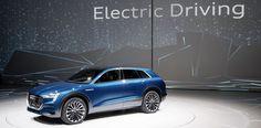 Audi announces EV SUV. Makes a swipe at Tesla #Tesla #Models #car #Automotive #cars #Autos