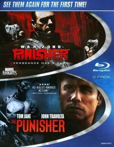 Punisher/Punisher 2: War Zone [2 Discs] [Blu-ray]