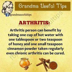Natural pain relief for arthritis