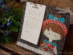 Calendário 2014 | Bonequinha de Luxo 001