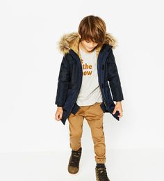Quilted parka-View all-OUTERWEAR-Boy-Kids | 4-14 years-KIDS | ZARA United States