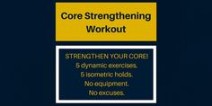 Core Strengthening 1
