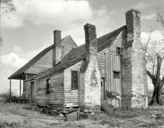 "Albemarle County, Virginia, 1935. ""Stony Point Tavern. Nathaniel Burnley, proprietor, 1820-1829."" Photo by Frances Benjamin Johnston."