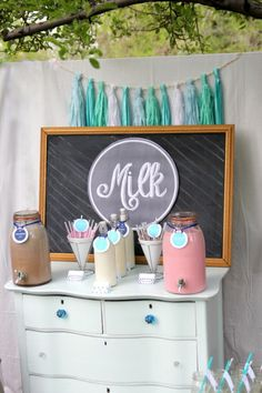 MIlk Station Idea