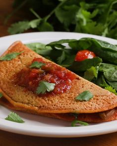 Chickpea Flour Omelet Recipe by Tasty