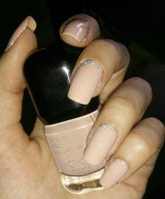 Power Pro Nail Lacquer KIKO 03 # nail art # pink & glitter