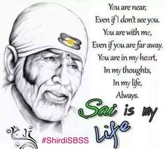 Dear Sai, I'm praying for all of your devotees to get whatever they wish for and I'm praying for… – tabescent-twists Sai Baba Pictures, God Pictures, Happy Thursday Images, Unforgettable Quotes, Sai Baba Quotes, Sai Baba Wallpapers, Baba Image, Devotional Quotes, Coach Quotes