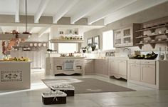 Cucina shabby chic in stile provenzale - romantico n.14 | Shabby ...