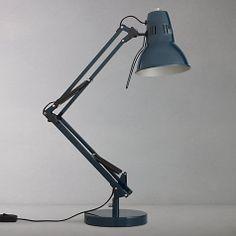 Petrol blue. For desk Buy John Lewis Elliot Task Lamp Online at johnlewis.com