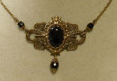 Titanic Jewelry Molly Browns Onyx Afternoon Tea by titanicjewelry, $40.00