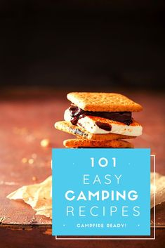Learn how to make the best meals for camping including chicken, fish, and desserts