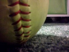 I love the dirth, the sweat, the softball.