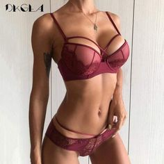 086818fad2 Push up Bra and Panty Lingerie Set A B C Cup