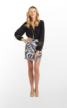 Here we go again with printed sequins -- our latest