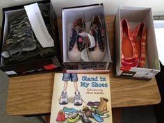 Crozet School Counseling: Empathy: Stand In My Shoes Elementary School Counseling, School Social Work, School Counselor, Elementary Schools, Counseling Office, Counseling Activities, Classroom Activities, Counseling Worksheets, Kid Activities
