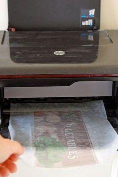 Como imprimir en madera en casa