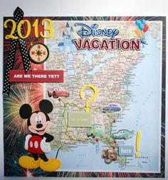 Disney Vacation Book (headig out)