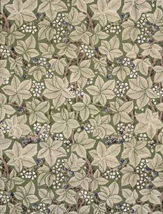 Bramble wallpaper by William Morris for Morris and Co, 19th century