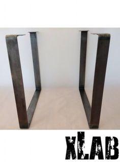 coppia gambe in ferro anticato per tavolo http://www.designxtutti.com/arredamento/tavoli-e-consolle