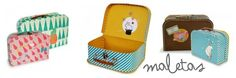 maletas vintage para niños de Mimi'lou