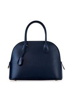 THE ROW Lady Bag in Soft Box Calf Leather | Neiman Marcus Satchel, Crossbody Bag, Stella Mccartney Adidas, Pouch Bag, Leather Leggings, Calf Leather, Neiman Marcus, The Row, Bucket Bag