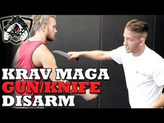 Krav Maga Gun & Knife Defense Techniques - YouTube