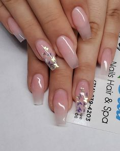We collected about long ombre coffin nails styles for you if you are you looking for the style of coffin nails. All of them are trendy We collected about long ombre coffin nails styles for you,if you are you looking the style of coffin nails. Summer Acrylic Nails, Best Acrylic Nails, Acrylic Art, Acrylic Nails Designs Short, Acrylic Nails Coffin Ombre, Acrylic Nail Designs Coffin, Clear Nail Designs, Natural Acrylic Nails, Pink Coffin