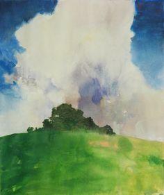 Watercolors - Joseph Stella - Oregon Refuge 5