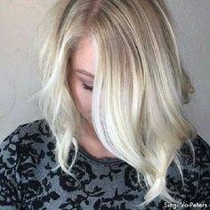 Cabelo loiro curto #cabelo #loiro #curto #platinado