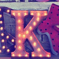"""Letter K (24"""" Light)"""