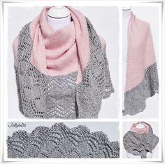 Strickanleitung Cascada Lace Shawl / Knitting pattern Cascada Lace Shawl
