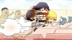 Mikasa comes to save the day