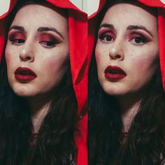 Throwback to channelling my inner little red riding hood �� lips are @maccosmetics Retro Matte Liquid Lipcolor in Dance With Me ��  #makeup #instamakeup #cosmetic #cosmetics #fashion #eyeshadow #lipstick #gloss #mascara #palettes #eyeliner #lip #lips #tar #concealer #foundation #powder #eyes #eyebrows #lashes #lash #glue #glitter #crease #primers #base #beauty #beautiful http://ameritrustshield.com/ipost/1552454845805722701/?code=BWLbXT-FXxN