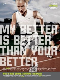 Nike SPARQ: Lindsey Tarpley, Nike Sparq, Wieden + Kennedy Portland, Nike, Print, Outdoor, Ads