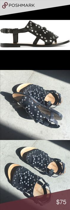See by Chloe studded sandals Authentic See by Chloe sandals made with leather and studs! All studs are well in place, leather all throughout the sandals. All details can be seen in the photos. Very comfortable from day 1 and goes well with anything. Accent item for your everyday look See by Chloe Shoes Sandals