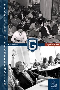 Who's coming to GEL Weekend? Admitted students can explore campus, stay in a dorm, and see what it's like to Be a Zag on April 20-21, 2013!