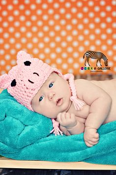 Ravelry: Little Pig Hat pattern by Rebecca Ann Donald