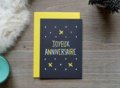Carte d'Anniversaire - © Aurélie Cas