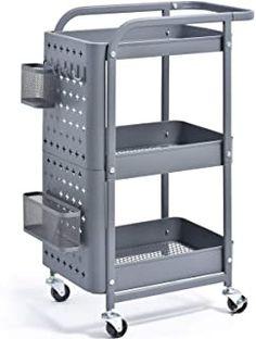 RCP342488BLA Economy Plastic Cart