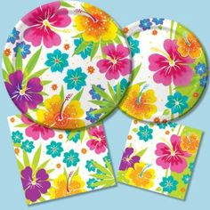 Floral Delight - Party at Lewis Elegant Party Supplies Plastic Dinnerware Paper Plates and  sc 1 st  Pinterest & Luau Candies | USA | Decorating | Pinterest | Candy and USA