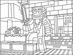 1000 images about minecraft on pinterest coloring pages for Minecraft mutant creeper coloring pages