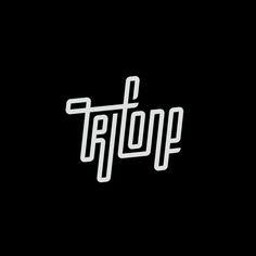 Trifone logo / custom type