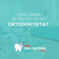 """A especialidade ortodontia é aquela que corrige a posição dos dentes e dos ossos maxilares. Assim, caso você apresente """"dentes salientes"""", falhas ou espaços entre os dentes, entre outros problemas que interferem na aparência ou, até mesmo, na qualidade da mordida, pode ser que precise de um tratamento ortodôntico. Frente a isso dirija-se até um profissional para fazer uma avaliação. Curta nossa página no Facebook: https://www.facebook.com/acheimeudentista"""