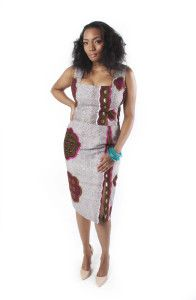 Dearcurves 'Sisi-Eko' Collection Efa Ankara Dress