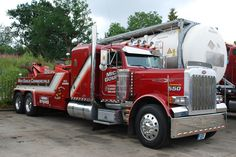 Towing And Recovery, Bug Out Vehicle, Peterbilt Trucks, Good Ole, Tow Truck, Custom Trucks, Old Trucks, Tractors, Buses