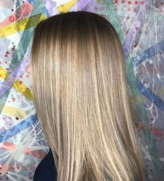 Perfectly Blended Sandy-Blonde Balayage for Dark-Blonde Hair