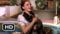 """Toto, I have a feeling we're not in Kansas anymore."" - The Wizard of Oz  (1939) HD"