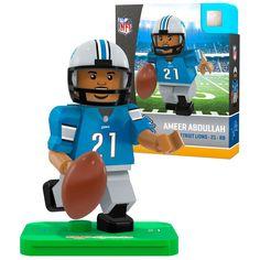 Ameer Abdullah Detroit Lions OYO Sports Generation 5 Player Minifigure - $10.39