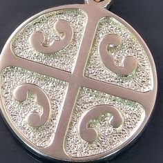 14K yellow gold Serbian medallion pendant - Modern Unique Serbian Orthodox Jewelry and crosses from serbianorthodoxjewelry.com